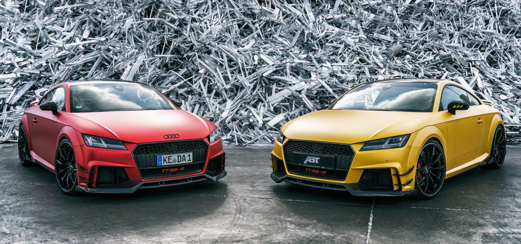 Audi Tt Rs R By Abt Dials Up To 500 Horsepower Audi Lovers