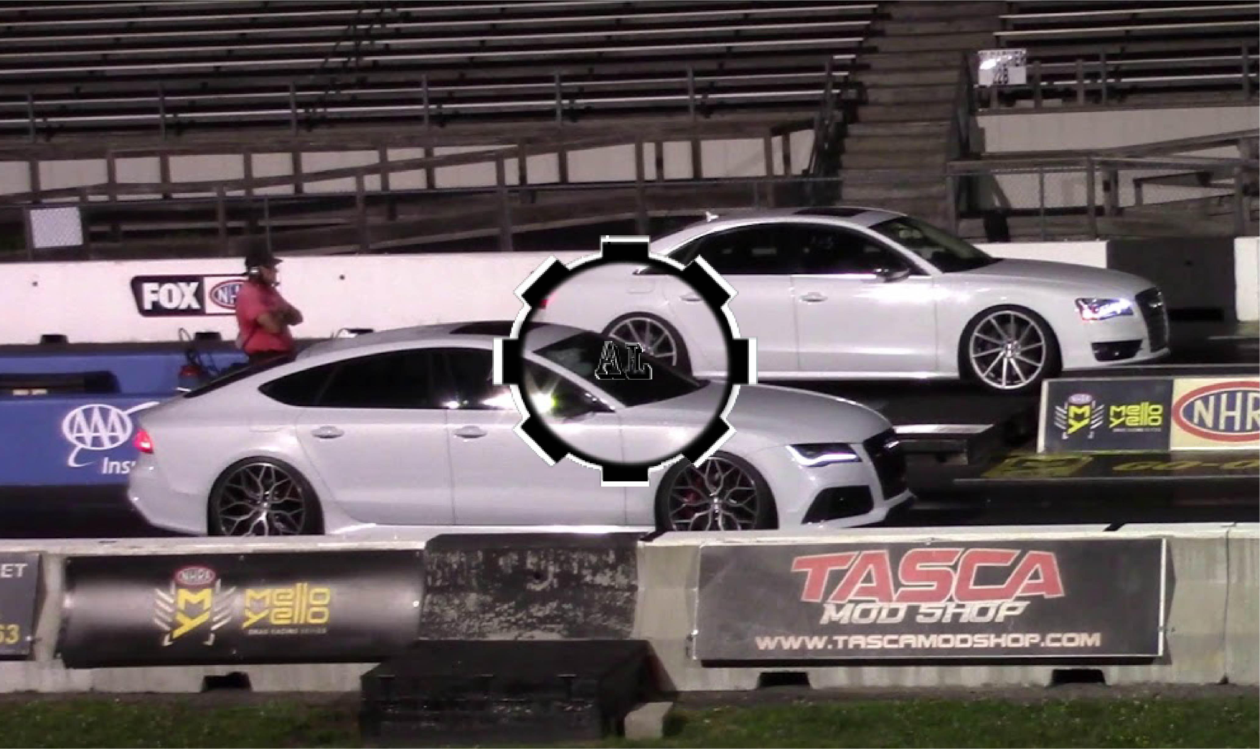 Audi RS7 vs Audi S8 - Drag Races - Audi Lovers